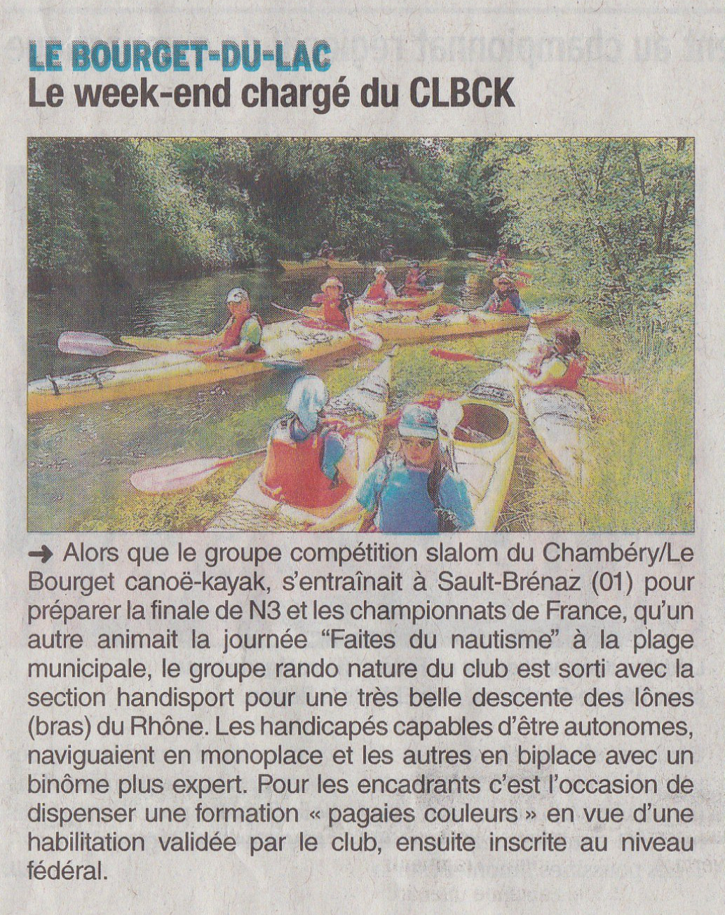Articles week end juin